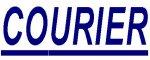 A COURIER autógumi gyártó logója.