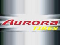 aurora autógumi gyártó logoja